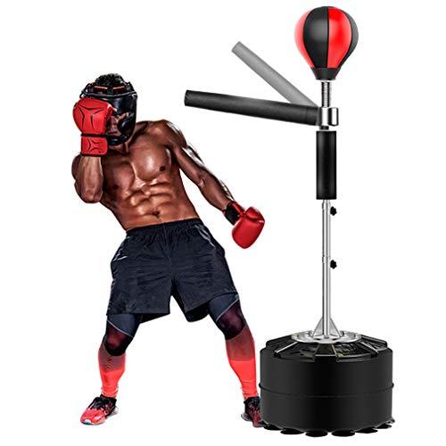 ZZZR Höhenverstellbares freistehendes Boxen, Spinning Bar Martial Art, Handpumpe für Jugendliche Kinder Erwachsene