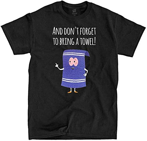 LSL Shirts South Park - Towelie - Black Shirt - Ships Fast!! (Large)