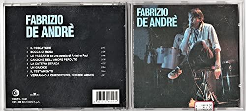 CD Fabrizio De Andrè