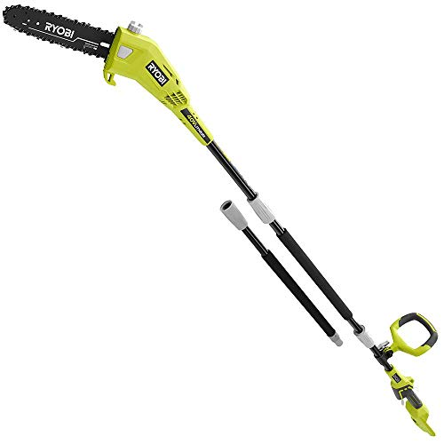 RYOBI RY40506BTL 10 in. 40-Volt Lithium-Ion Cordless Battery Pole Saw (Tool-Only)