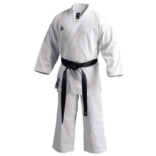 adidas Karate Traje Grand Master, Color - Blanco, tamaño 190
