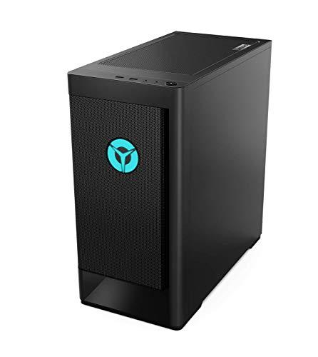 Lenovo Legion Tower 5 Gaming Desktop-PC (AMD Ryzen 5 3600, 16GB RAM, 512GB SSD, NVIDIA GeForce RTX 3060, Windows 10 Home) schwarz