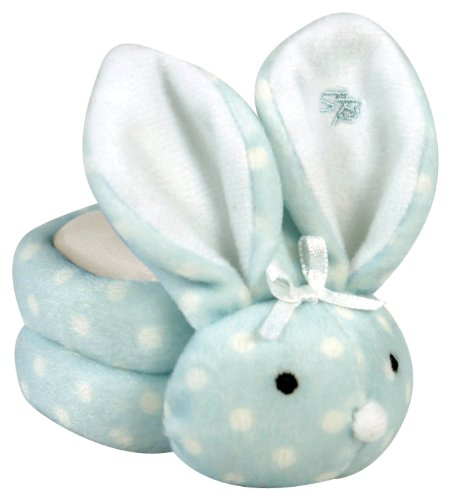 Stephan Baby Boo Bunnie Comfort Toy and Boo Cube, Baby Boy Polka Dot