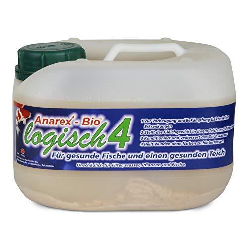 Anarex-Bio® 2,5 l • Biologische Milchsäurebakterien für Teich • Teichbakterien zur Vorbeugung von Krankheiten • Vernichtet 95{e0c9abfb29cb938f126700d6f4a29d1c873c12c38643963e4c92e0bf05ea237a} krankheitserregenden Bakterien