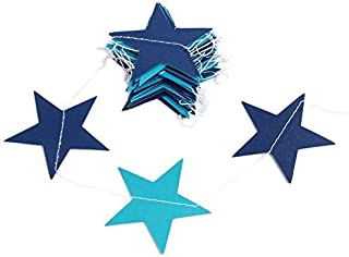 Room Diy - 4m Wall Hangings Props Decoration Star Round Heart Card Paper Wedding Party Decor Garland Handmade - Child Room Decor Star Banners Streamers Confetti Paper Garland Zilue Wall Party Ba