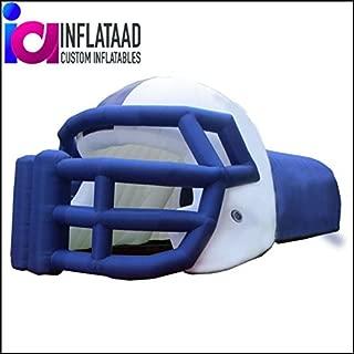 Inflata Ad Inc. Football Helmet Tunnel Blue White