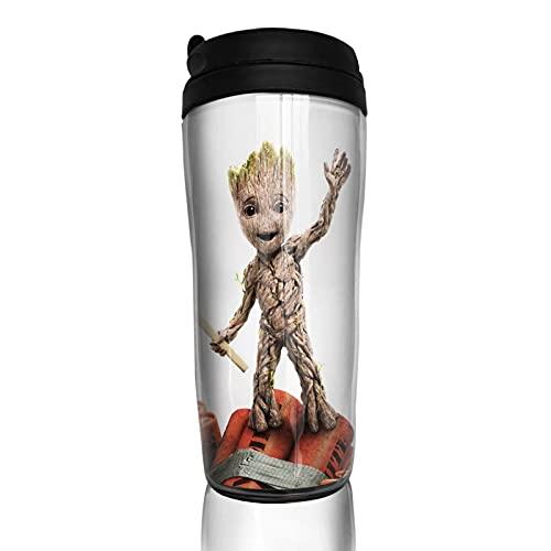 Groot Tree Man Match - Taza de café reutilizable aislada para bebidas calientes frías y calientes, té y cerveza