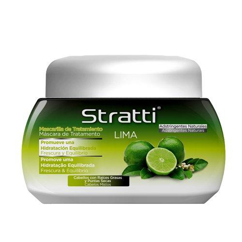 Stratti Lima - Mascarilla Frescura y Equilibrio con Keratina - 550 gr