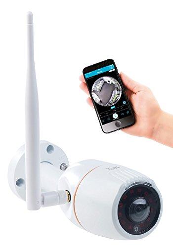 7links Webcam Outdoor: 360°-Panorama-IP-Außen-Überwachungskamera, WLAN, Nachtsicht, App, IP66 (Webcam Außenbereich)