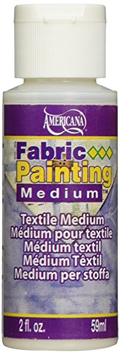 DecoArt DAS10-3 Americana Mediums Fabric Painting, 2-Ounce