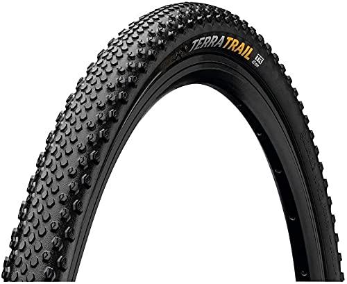 Byrhgood Neumático de reemplazo Plegable de la Bicicleta de la Bicicleta del neumático de la Bicicleta 700x40 (40-622) E25 Bicicleta Adulta Unisex (Color : Black)