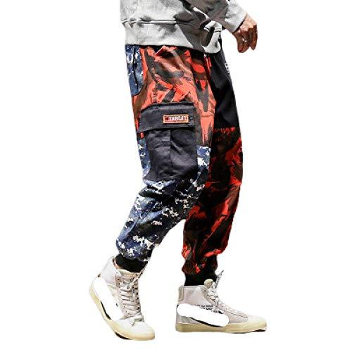 nobranded Pantalones de Hombre Ropa de Trabajo de Estilo Militar Pantalones de Camuflaje Pantalones Sueltos Pantalones de Carga Casual de Gran tamaño al Aire Libre Pantalones de Trabajo