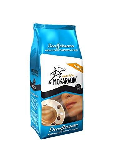 MOKARABIA CUOR DI MOKA ENTKOFFEINIERT 1 kg BOHNEN KAFFEE