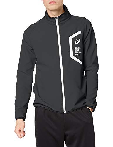 [アシックス] トレーニングウエア クロスジャケット(スリム) 2031C264 メンズ 001(パフォーマンスブラック) 日本 XL (日本サイズXL相当)