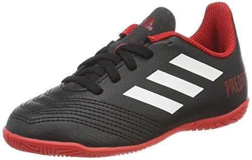 adidas Predator Tango 18.4 In, Zapatillas de Fútbol Unisex Adulto, Negro (Cblack/Ftwwht/Red Cblack/Ftwwht/Red), 38 2/3 EU