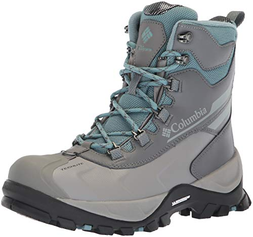 Columbia Women's Bugaboot Plus IV Omni-Heat Snow Boot, storm, earl grey, 8
