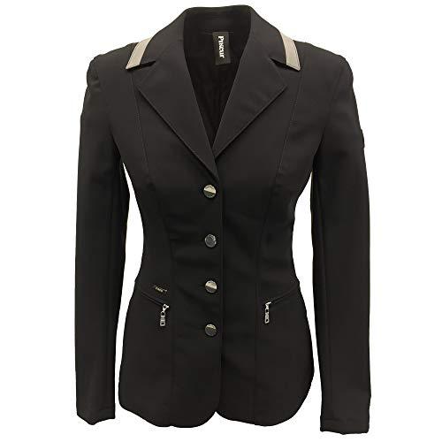 Pikeur Klea Vario Show Jacket 42 (UK 38 Inch) Black/Grey