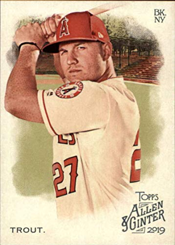 2019 Topps Allen and Ginter #10 Mike Trout Los Angeles Angels MLB Baseball Trading Card