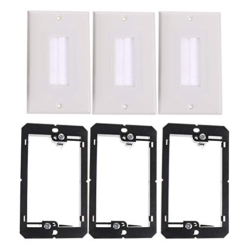 3pcs Single Wall Panel with 3pcs Single Row Low Voltage mounting Bracket