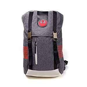 41qml1cHX L. SS300  - Bioworld- Mochila, Color Grey (Star Wars: The Last Jedi BP505012STW)