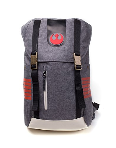 Bioworld- Mochila, Color Grey (Star Wars: The Last Jedi BP50