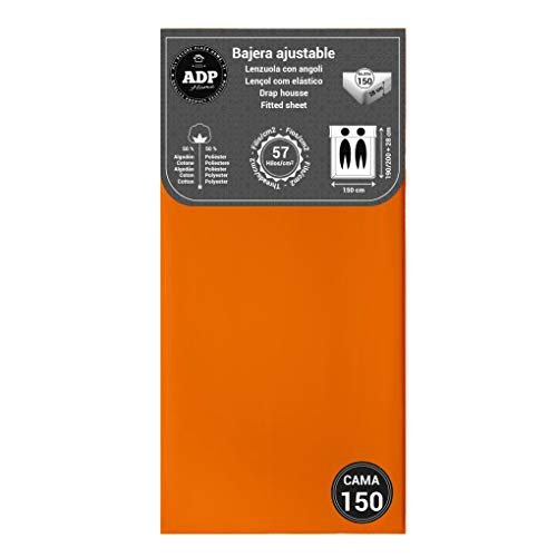 ADP Home - Bajera Ajustable (para Cama de 150 cm), Naranja
