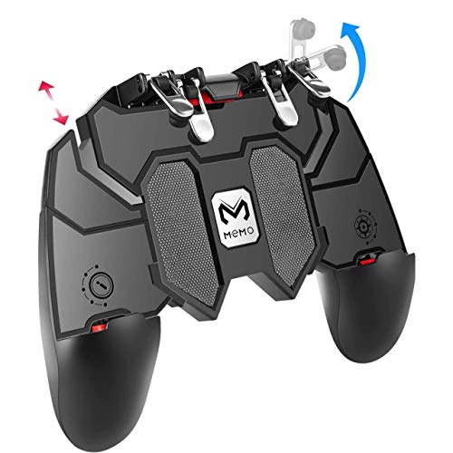 YouFirst Pubg Mobile Controller [ 6 Finger Gamepad/Upgrade Version] COD Mobile Controller...