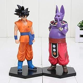 16 cm 2 Unids/Lote Dragon Ball Z Figuras Goku Champa PVC Figura de Acción Colección Modelo Juguetes para Niños