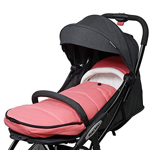 GOUO@ Sac de couchage chaud pour poussette de bébé Trolley pour bébé Couverture complète Pare-brise Automne et hiver Parapluie-voiture Cache-pied universel pour coussin chauffant pour 0-3 ans -3 94c