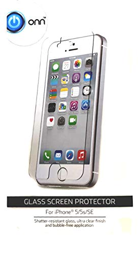 ONN Glass Screen Protector for iPhone 5/5s/SE