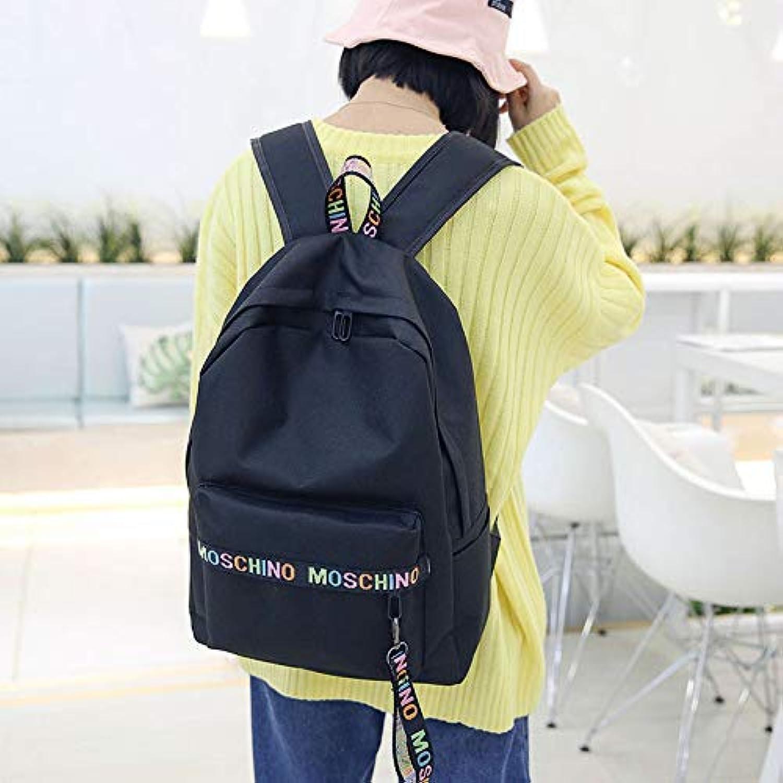 Rucksack GLQyM Groraum-Studententasche Canvas Fashion Travel Bag A