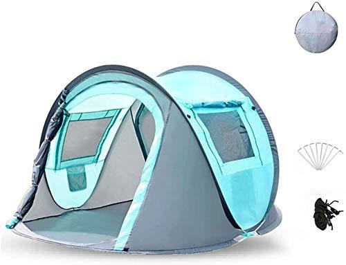 Las tiendas de los indios norteamericanos utdoor niños al aire libre completamente automático que acampa plegable engrosamiento de luz de camping Niños a prueba de lluvia portátil Parasol Game House (