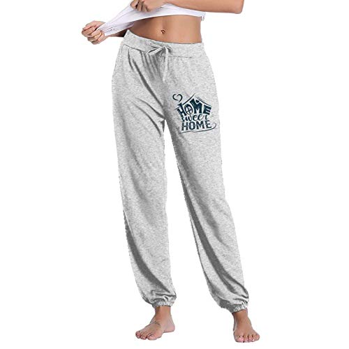 Home Decor Welcome Home Sweet Home2 - Pantalones deportivos transpirables para mujer