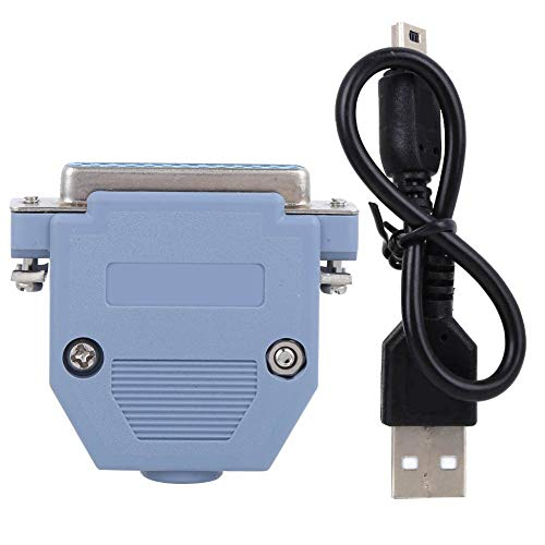 Oumefar Small Volume Stable CNC USB Controller Mach3 UC100 Adapter High Accuracy USB to Parallel Converter Cable Prcatical for Mach3 UC100