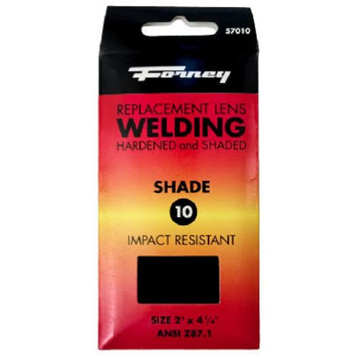 Forney 57010 Lens Replacement Hardened Glass, 4-1/4-Inch-by