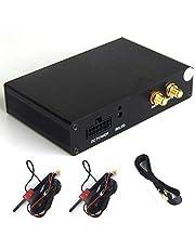 Dasaita DVB-T2 HD TV Box Coche Caja Receptor de Alta Velocidad TV Digital Sintonizador Analogico con Antena Dual USB HDMI