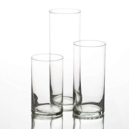 Eastland Cylinder Pillar Candle Vases Set of 36