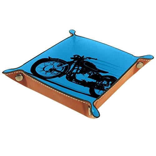 MUMIMI Caja de almacenamiento de joyería para anillos, pendientes, joyería y anillo de motocicleta