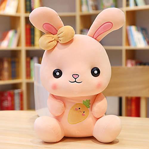 Hunpta @ 25cm Karikatur Hase Süßes Plüschtiere Plüsch Spielzeug Kuscheltier Puppe Dekokissen Geburtstag Weihnachten für Junge Mädchen