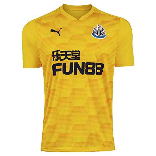 PUMA 2020-2021 Newcastle United Third Goalkeeper Football Soccer T-Shirt Jersey (Yellow)