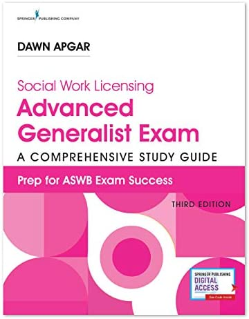 Social Work Licensing Advanced Generalist Exam Guide A Comprehensive Guide for Success 3rd Edition product image