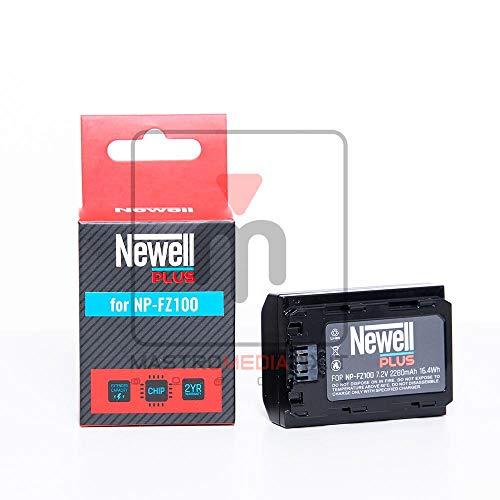Batería de litio 2280 mAh compatible Sony NP-FZ100 para A7III A7RIII A9