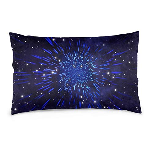 XIEXING Pillow Case Star Printed Pillow Cases Soft Chair Seat Bedding Pillowcase Coffee Shop Home Decor 20'' X30
