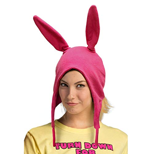 Ripple Junction Bob's Burgers Louise Beanie Hat, Adult One Size Pink