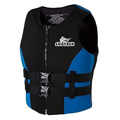 Roeam Water Sports Adult Life Jackets Neoprene Fishing Life Jacket Watersports Kayaking Boating Drifting Safety Life Vest