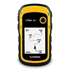 """Garmin eTrex 10 GPS Handgerät - 2,2"""" monochrome, Batterielaufzeit bis 25 Std."""
