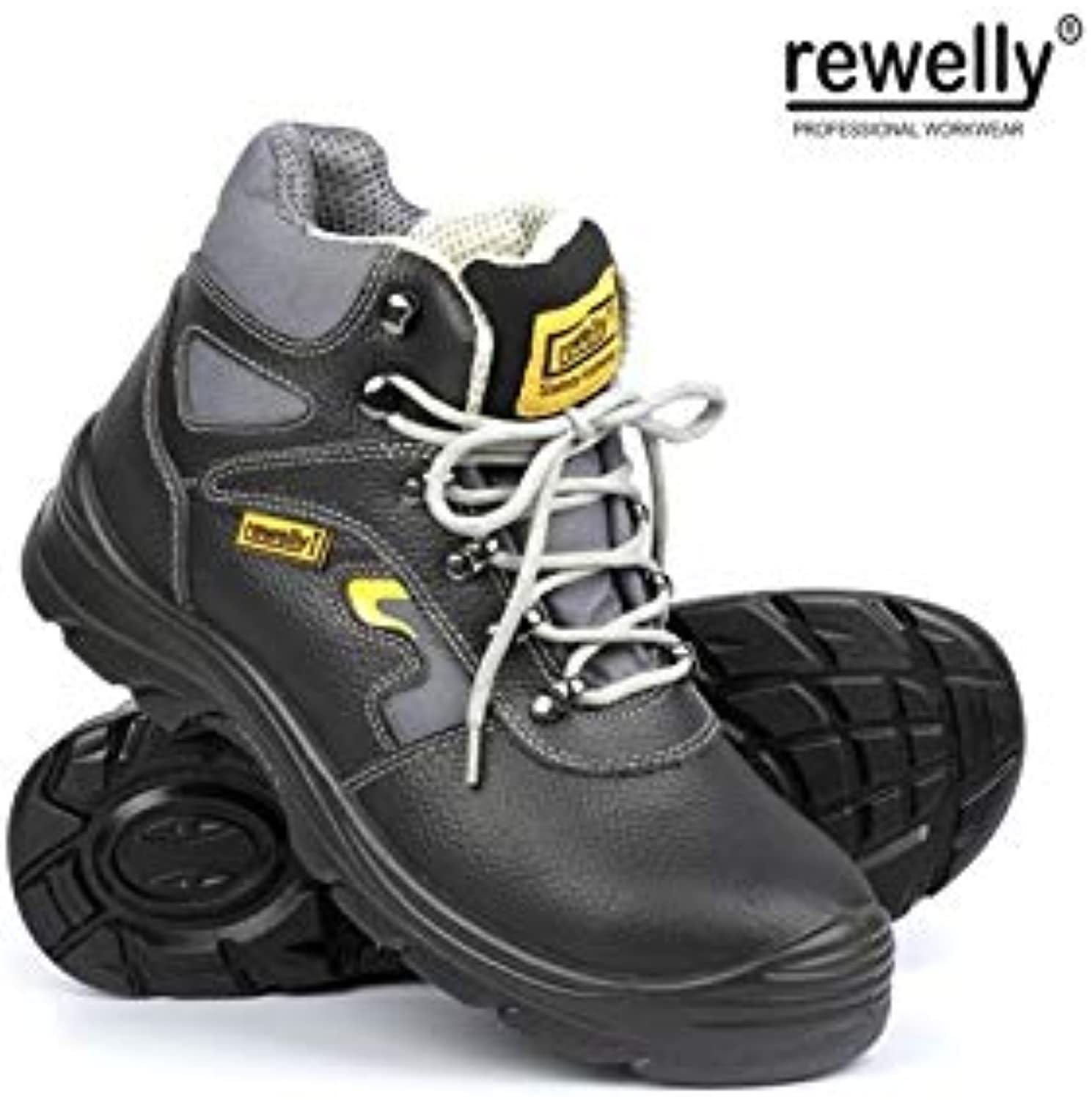 HIGH CUT SHOES PLAYER LIGHT REWELLY S3 - Black 51