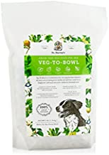 Dr. Harvey's Veg-to-Bowl Dog Food, Human Grade Dehydrated Base Mix for Dogs, Grain Free Holistic Mix (3 Pounds)