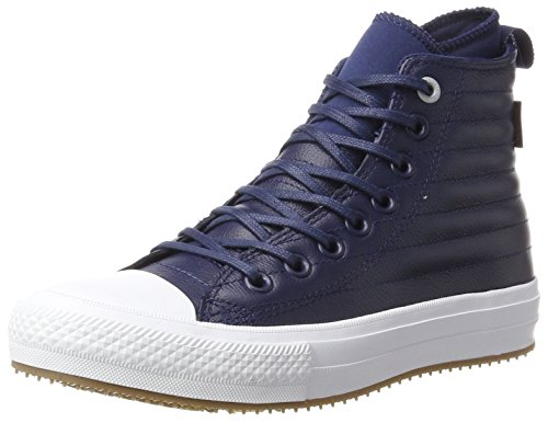 Converse Unisex Adults' CTAS WP Boot Midnight Navy/Wolf Grey Hi-Top Trainers, Blue (Midnight Navy 471), 9 UK