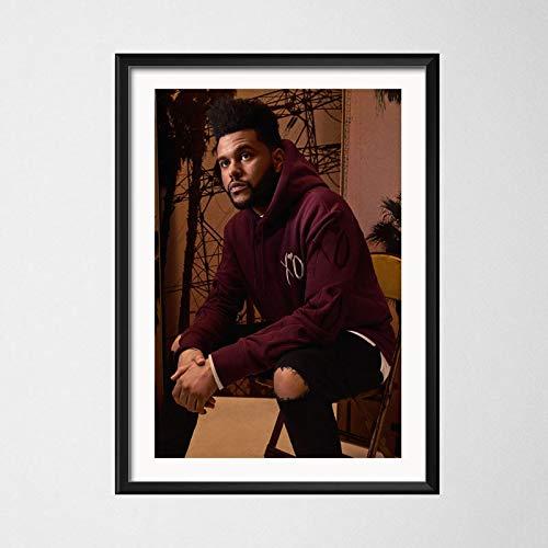 GaoDashan The Weeknd Pop Funk musique chanteur étoile Art peinture toile affiche mur décoration de la maison Jh-3829 affiche sans cadre 50X70Cm